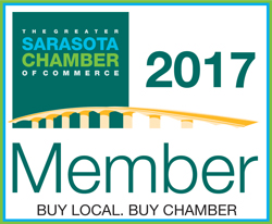 Sarasota Chamber Badge of Membership 2017